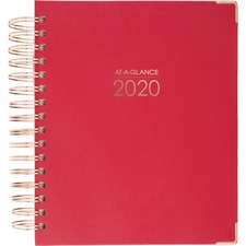 AAG 609990559 AT-A-GLANCE Harmony Hardcover Wkly/Mthly Planner AAG609990559