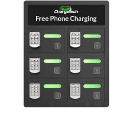 CRG CT300029 ChargeTech 8-bay Cell Phone Charging Locker CRGCT300029