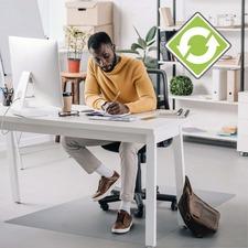 FLR ECO123048AEP Floortex Ecotex Evolutionmat Anti-slip Chairmat FLRECO123048AEP