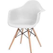 IRS 586715 Iris Classic Shell Chair w/ Armrests IRS586715