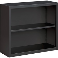 LLR 59691 Lorell Fortress Series Charcoal Bookcase LLR59691