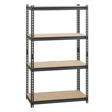 LLR 59696 Lorell 2,300 lb Capacity Riveted Steel Shelving LLR59696