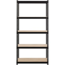 LLR59697 - Lorell 2,300 lb Capacity Riveted Steel Shelving