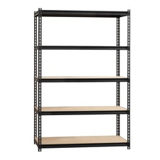 LLR59699 - Lorell 2,300 lb Capacity Riveted Steel Shelving