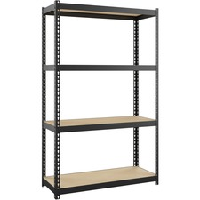 LLR 66963 Lorell Narrow Steel Shelving LLR66963