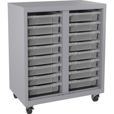 LLR71102 - Lorell Pull-out Bins Mobile Storage Unit