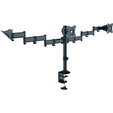 LLR 82018 Lorell Triple Monitor Arm LLR82018