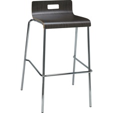 LLR 99588 Lorell Bentwood Low Back Cafe Stool LLR99588