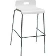 LLR 99589 Lorell Bentwood Low Back Cafe Stool LLR99589