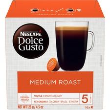 NES 77319 Nestle Dolce Gusto Medium Roast Coffee Capsules NES77319