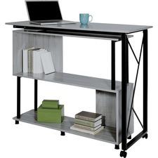 SAF 1904GRKDA Safco Mood Rotating Worksurface Standing Desk SAF1904GRKDA