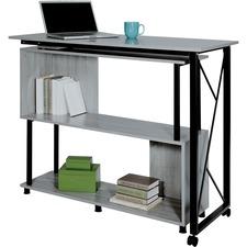 SAF 1904GRKDB Safco Mood Rotating Worksurface Standing Desk SAF1904GRKDB