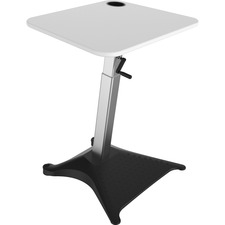 "Focal Brio Adjustable Height Standing Desk - 50.3"" Height x 29.5"" Width x 27.3"" Depth - Assembly Required"