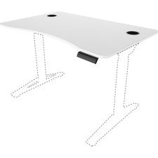 SAF 1982WH Safco Defy Electric Desk Adjustable Tabletop SAF1982WH