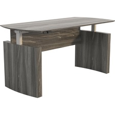 SAF MNDHALGS Safco Medina Curved Height-Adjustable Desk SAFMNDHALGS