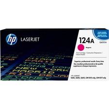 HP 124A (Q6003A) Original Toner Cartridge - Single Pack - Laser - Standard Yield - 2000 Pages - Magenta - 1 Each