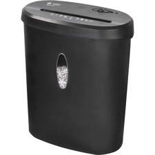BSN 70121 Bus. Source 4.6-gallon Bin Cross-cut Shredder BSN70121