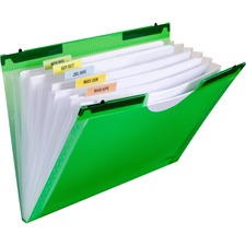 CLI 58203 C-Line Hanging Tabs 7-pocket Expanding File CLI58203