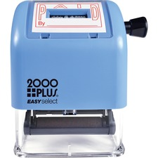 COS 011093 Cosco 2000 Plus Self-inking Date Stamp COS011093