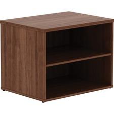 LLR16232 - Lorell Walnut File Storage Cabinet Credenza