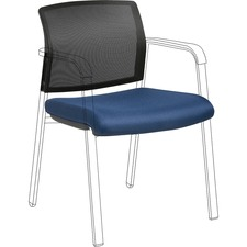 LLR 30945 Lorell Stackable Chair Mesh Back/Fabric Seat Kit LLR30945