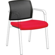 LLR 30946 Lorell Stackable Chair Mesh Back/Fabric Seat Kit LLR30946