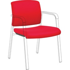 LLR 30949 Lorell Stackable Chair Upholstered Back/Seat Kit LLR30949