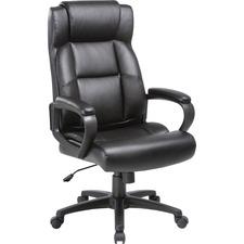 LLR 41844 Lorell SOHO High-back Leather Executive Chair LLR41844