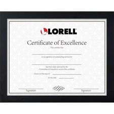 LLR 49218 Lorell Certificate Frame LLR49218