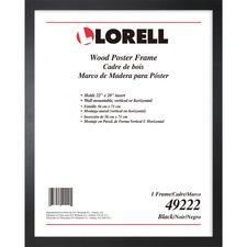 LLR 49222 Lorell Solid Wood Poster Frame LLR49222