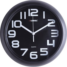 LLR 61012 Lorell Large Number Wall Clock LLR61012