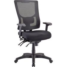 LLR 62000 Lorell Multifunctional Mesh High-back Exec. Chair LLR62000