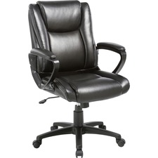 LLR 81801 Lorell SOHO High-back Leather Chair LLR81801