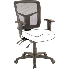 Lorell Mid-Back Chair Frame - Black
