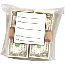 MMF 236006820 MMF Industries Strapped Currency Bags MMF236006820