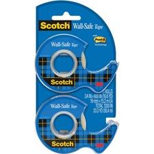 MMM 183DM2 3M Scotch Wall-Safe Tape MMM183DM2