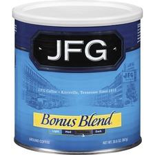 NCF 100413 NE Coffee JFG Bonus Blend Coffee Canister NCF100413