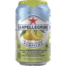 NLE 041508333511 Nestle San Pellegrino Sparkling Grapefruit Drink NLE041508333511