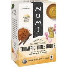 NUM 10550 NUMI Turmeric Organic Tea NUM10550