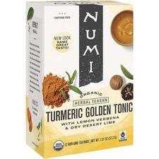 NUM 10551 NUMI Turmeric Organic Tea NUM10551