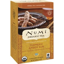 NUM 10552 NUMI Turmeric Organic Tea NUM10552