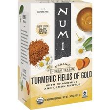 NUM 10553 NUMI Turmeric Organic Tea NUM10553