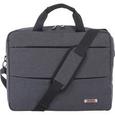 SWZ EXB1022SMGRY Swiss Mobility Slim Executive Briefcase SWZEXB1022SMGRY