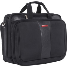SWZ EXB1707SMBK Swiss Mobility Executive Deluxe Briefcase SWZEXB1707SMBK