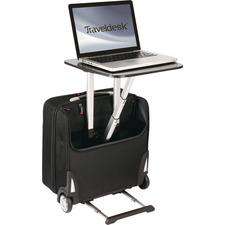 TLD TRVW777BK Travel Desk Mobile Workstation Business Case TLDTRVW777BK