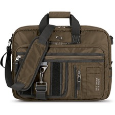 USL UBN3503 US Luggage Solo Briefcase/Backpack Hybrid Bag USLUBN3503
