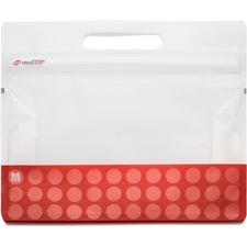"""VEK 30132 VELCRO Brand PressLok 12"""" Plastic Storage Bags VEK30132"""
