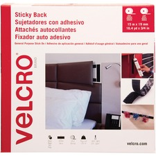 VEK 30631 VELCRO Brand Sticky Back Stick On Fasteners VEK30631