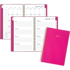 AAG112320056 - At-A-Glance Cambridge Color Bar Small Planner