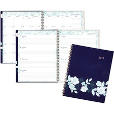 AAG1131901 - At-A-Glance Cambridge Midnight Magnolia Planner